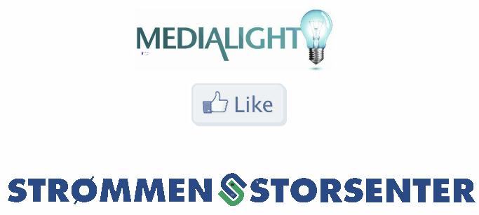 Medialight liker Strømmen Storsenter case Resonate