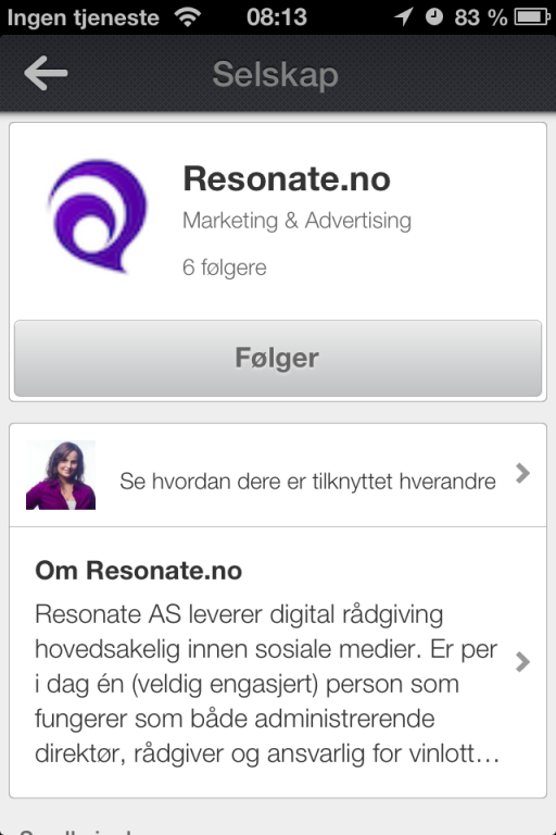 Resonate Linkedin