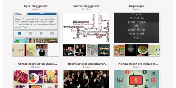 Pinterest for bedrifter – bedriftskonto og 5 tips