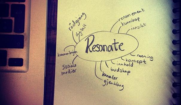 Om navnevalget Resonate AS