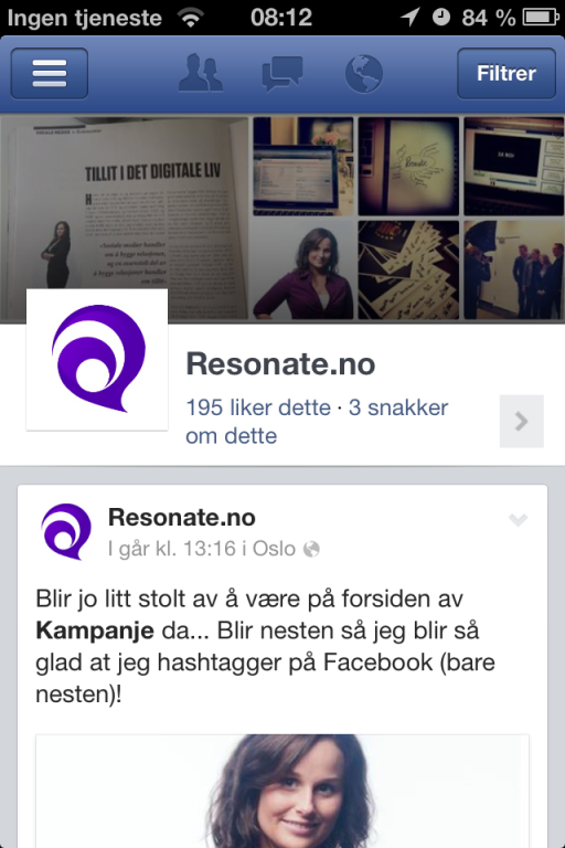 Resonate Facebook